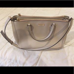 Kate Spade Laurel Way Leighann Bag (Pumice)